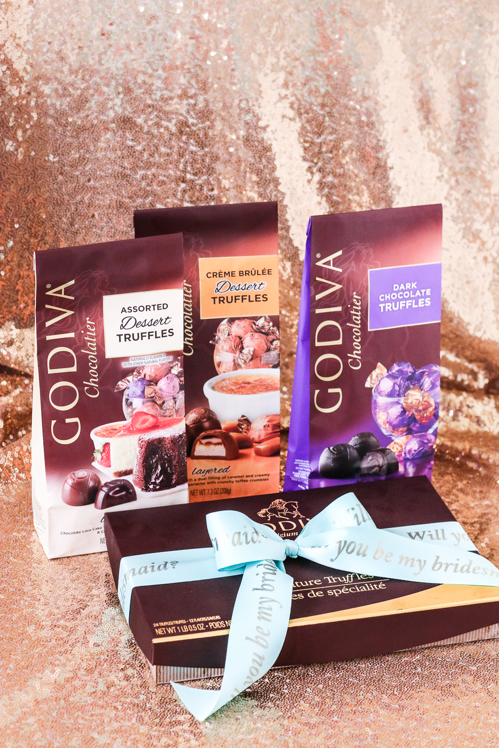godiva wedding favor ideas