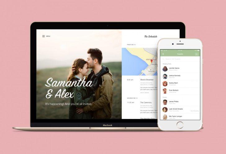 free wedding website from joy