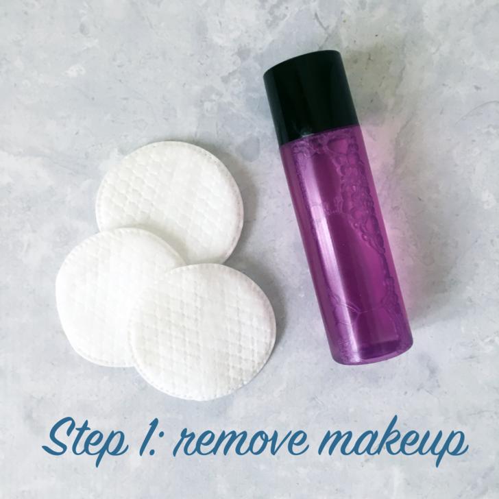 Bridal Skincare Routine Step 1
