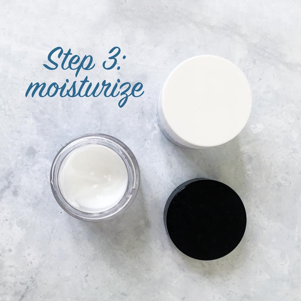 Bridal skincare routine - Step 3