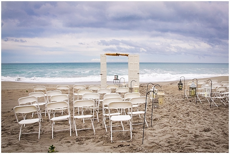 wedding ceremony beach venue
