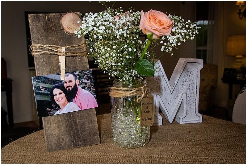 rustic simple wedding decor