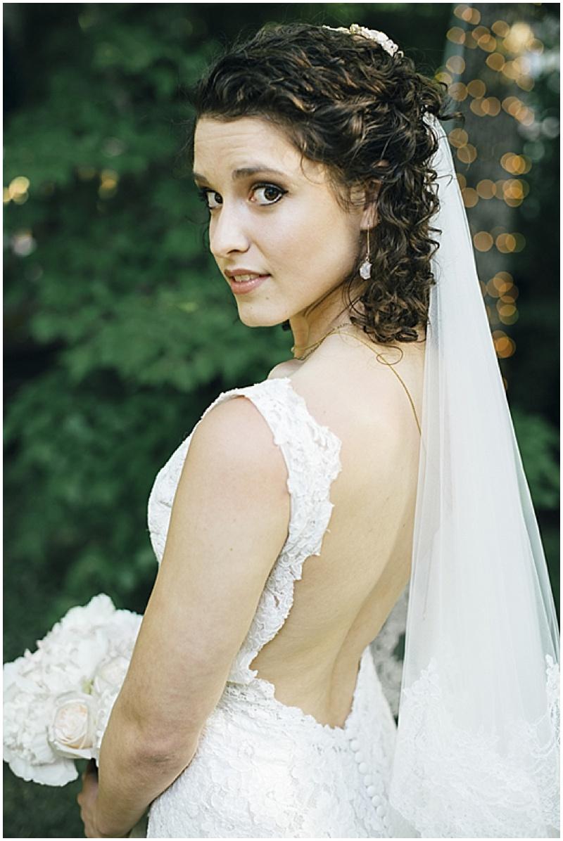 low cut wedding dress back