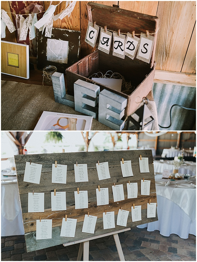 rusutic wedding decor