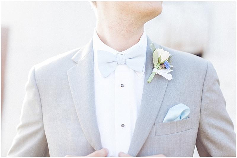 gray groom suit