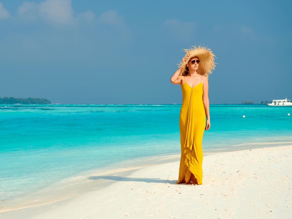tropical honeymoon dresses
