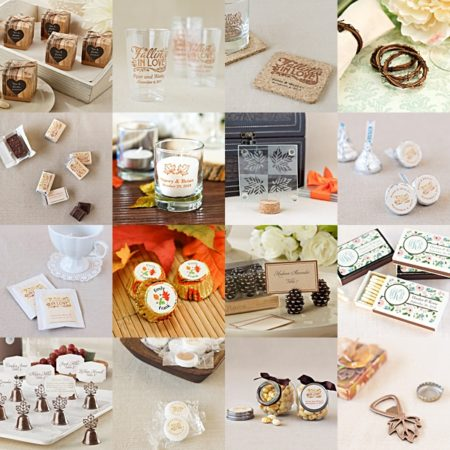 Fall Wedding Favors under $1