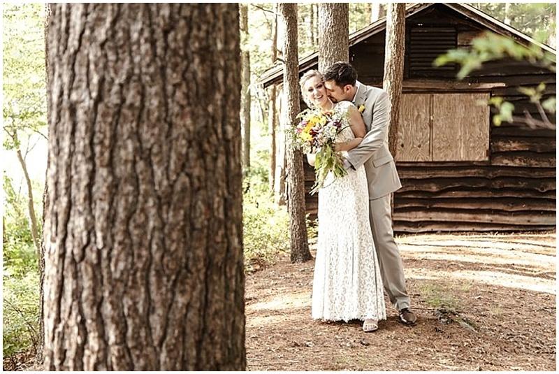 campsite wedding photos
