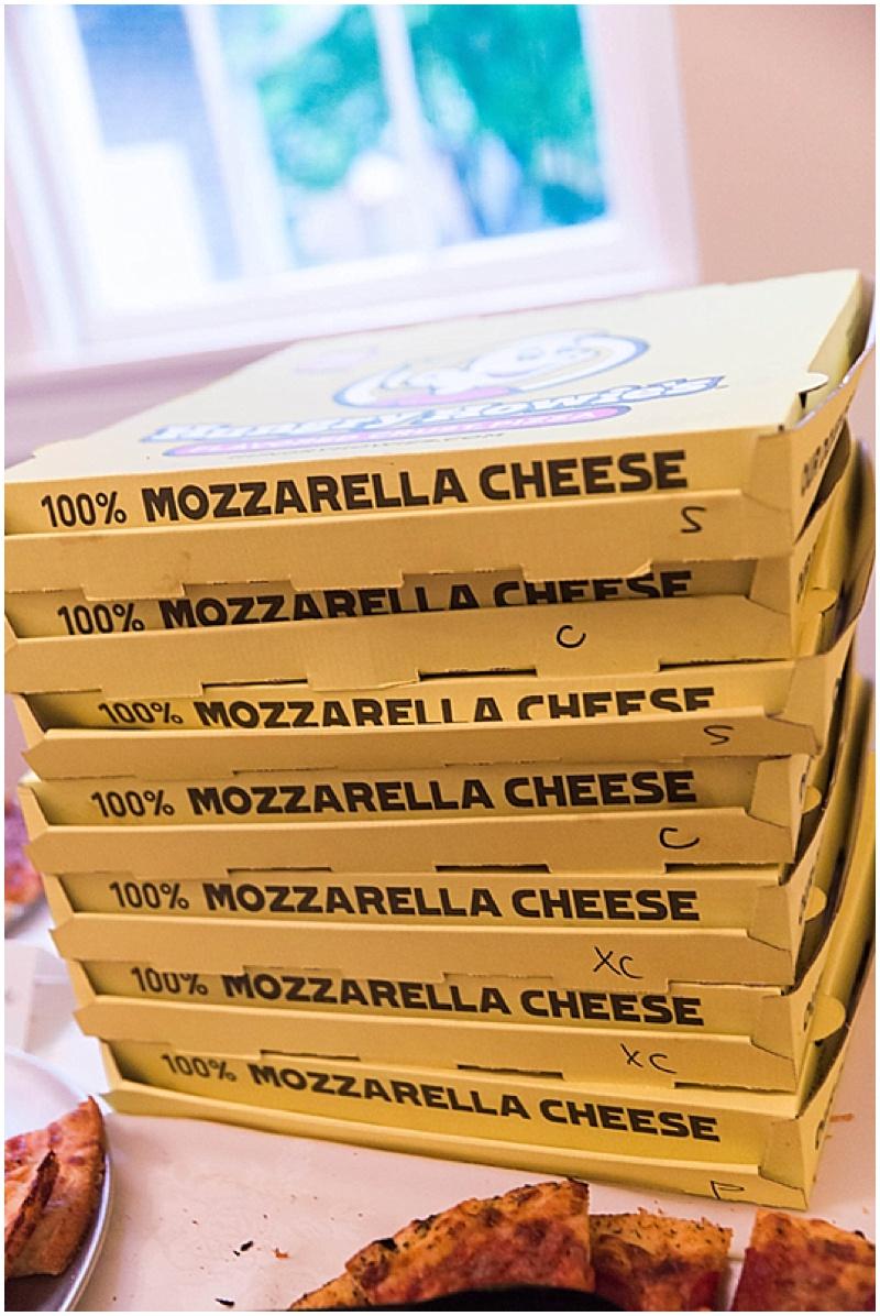 pizza reception