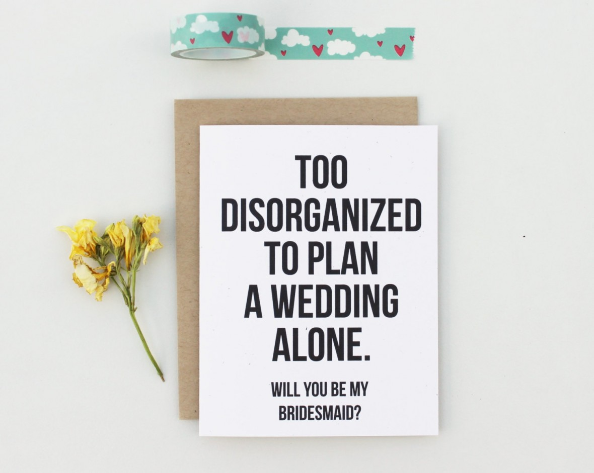 Patterson Paper - Bridesmaids Proposal Cards from Etsy