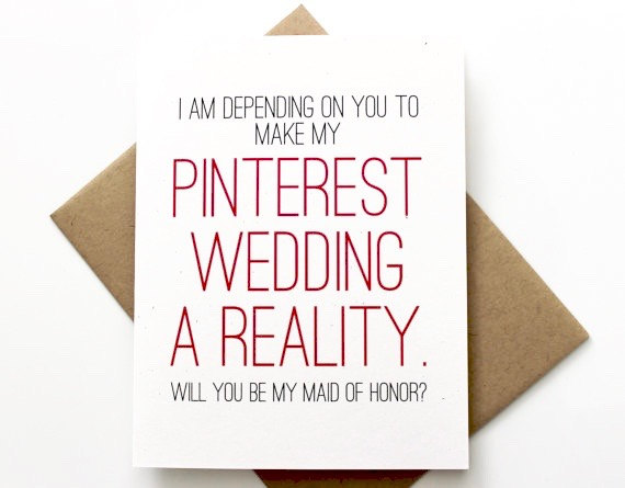 Patterson Paper -Bridesmaids Proposal Cards from Etsy