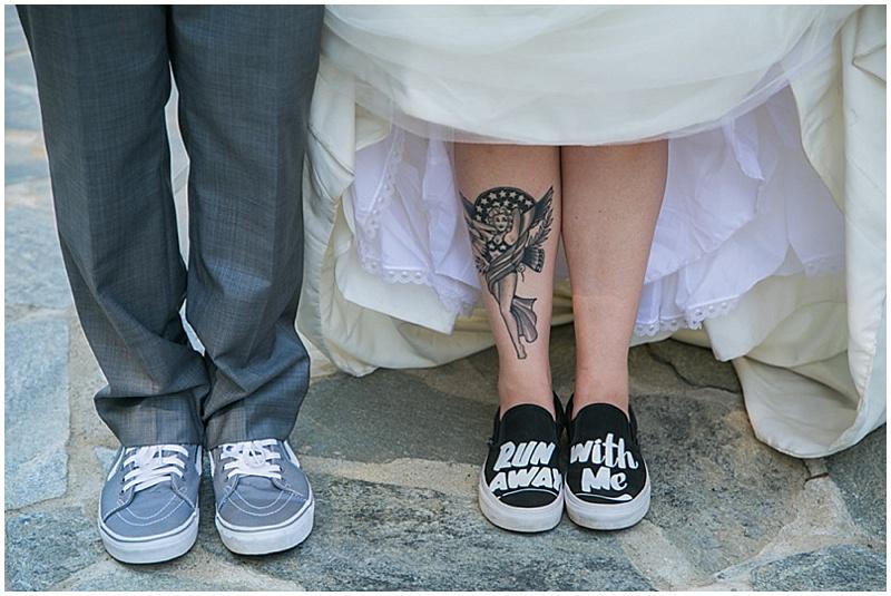 vans wedding shoes