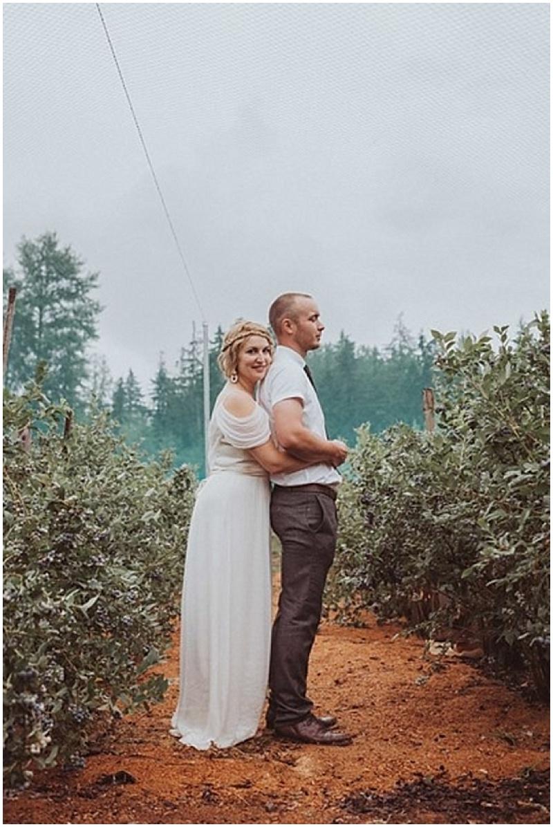 outdoor farm wedding photos