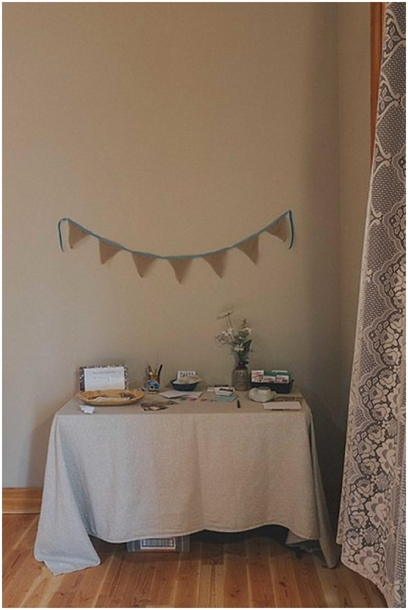 casual wedding reception food