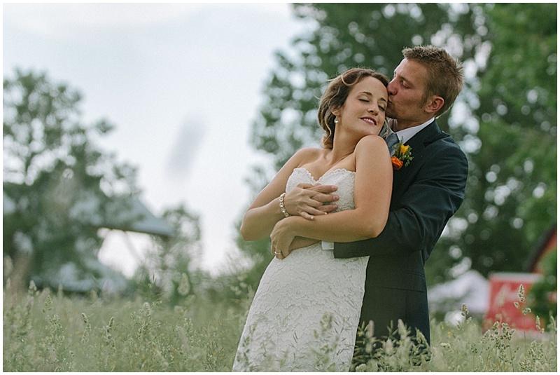 field wedding photos