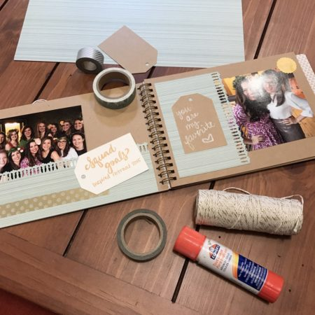 bridesmaid proposal scrapbook
