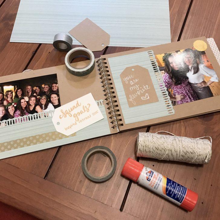 bridesmaid proposal scrapbook