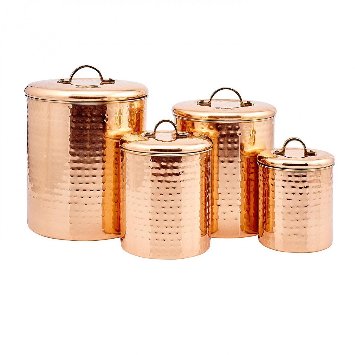 Hostess Gift Idea - Copper Canister Set