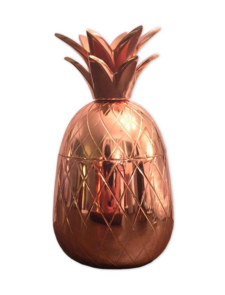 Hostess Gift Idea - Copper Pineapple Cocktail Mug