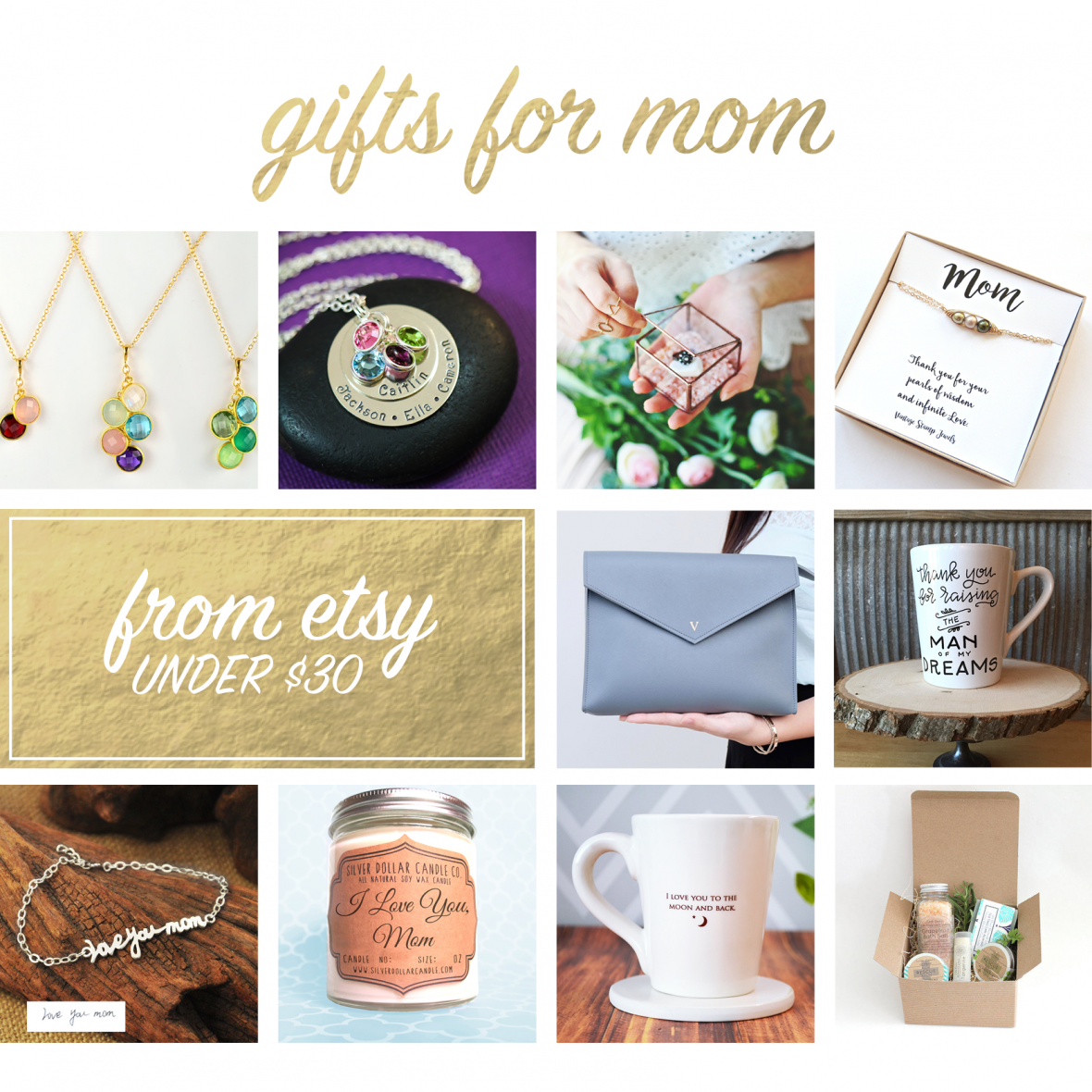 Handmade Gifts for Moms from Etsy