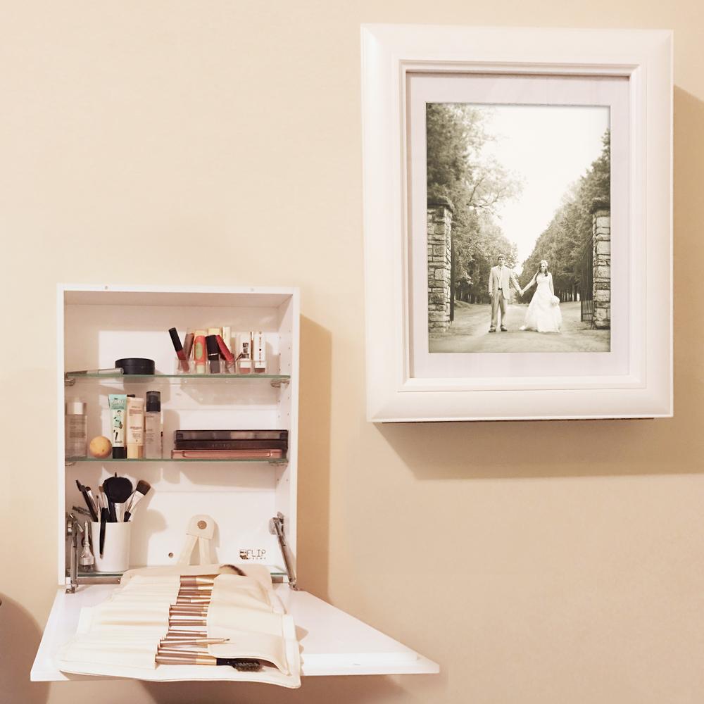 Flip Frame Storage Cabinet