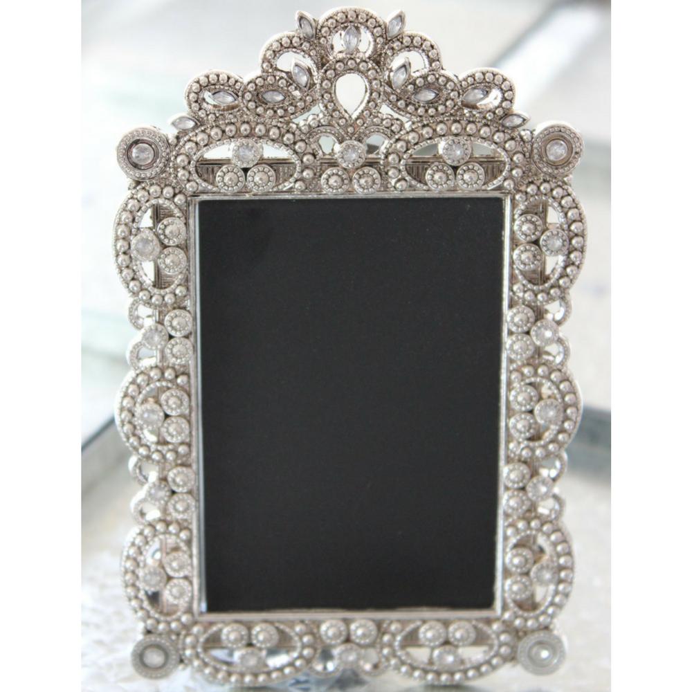 Vintage Style Jeweled Rhinestone Chalkboard Frames by TheFulfilledShop on Etsy