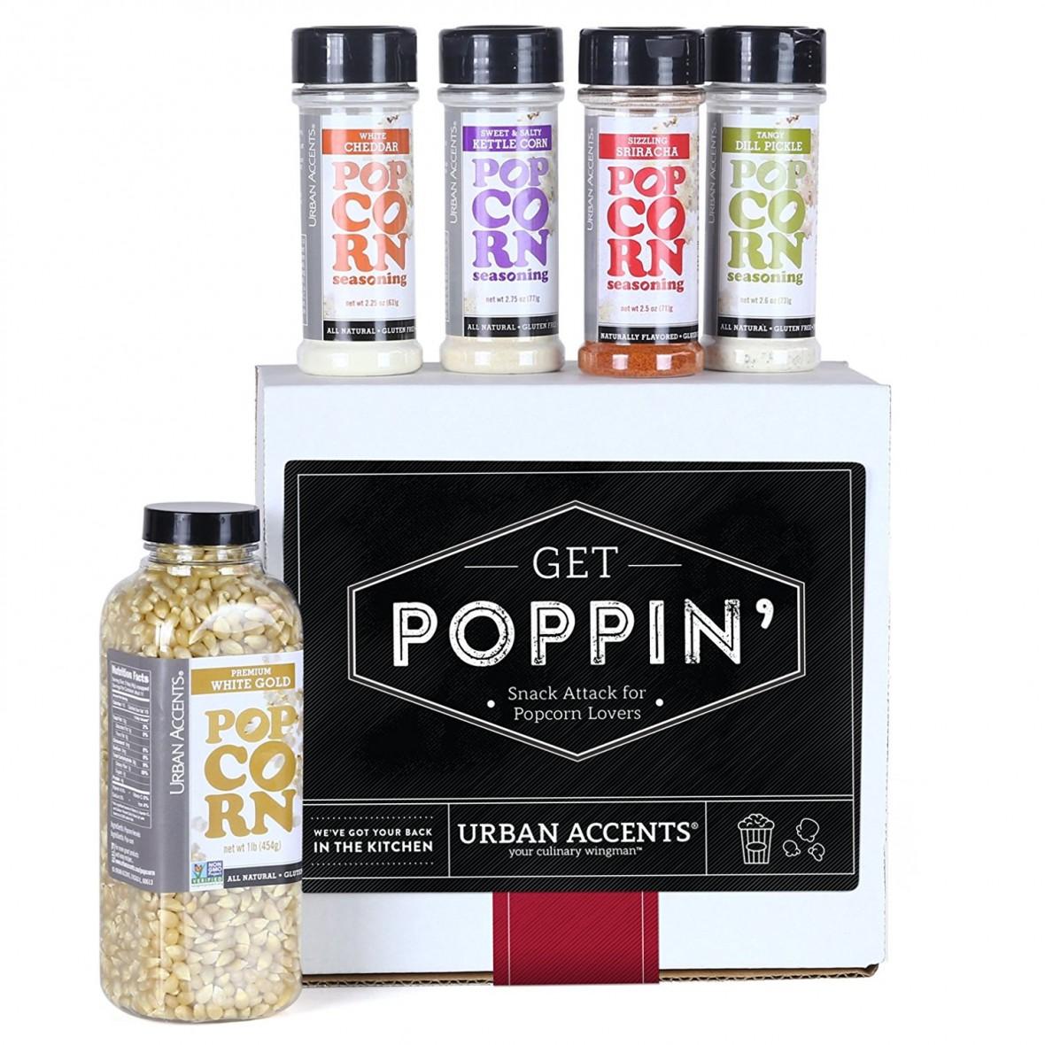 Gourmet Popcorn Set