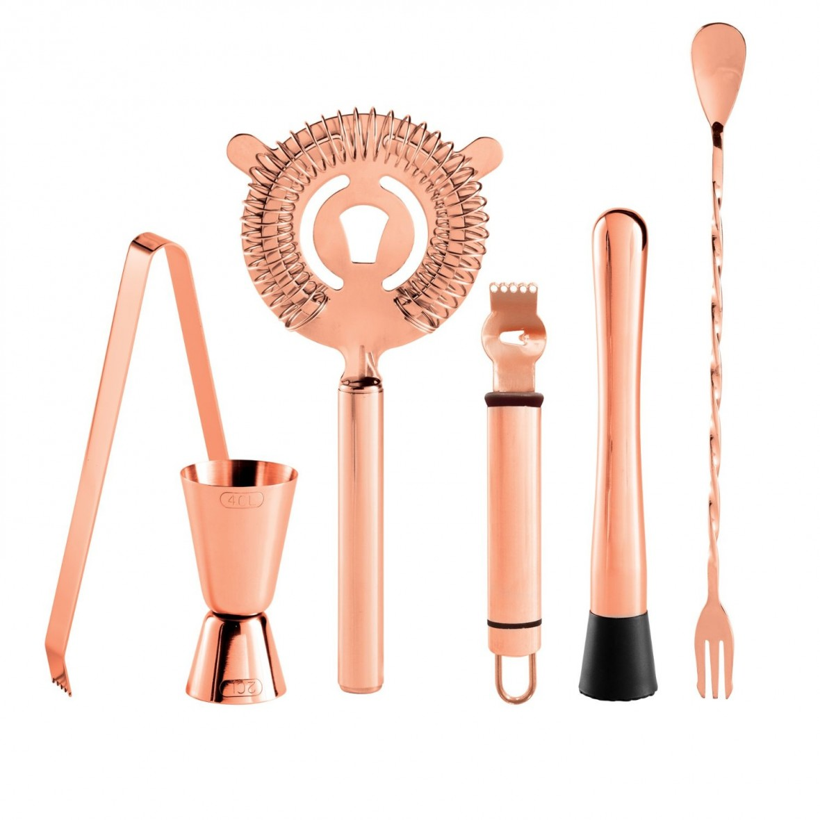 Hostess Gift Idea - Rose Gold Bar Tools