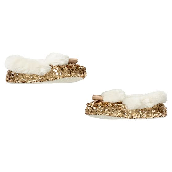 Sequin slippers from PBTeen