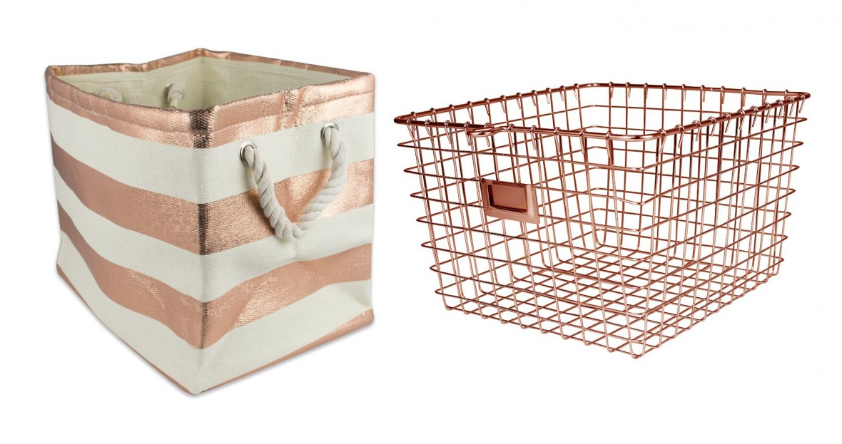 Hostess Gift Idea - Storage baskets