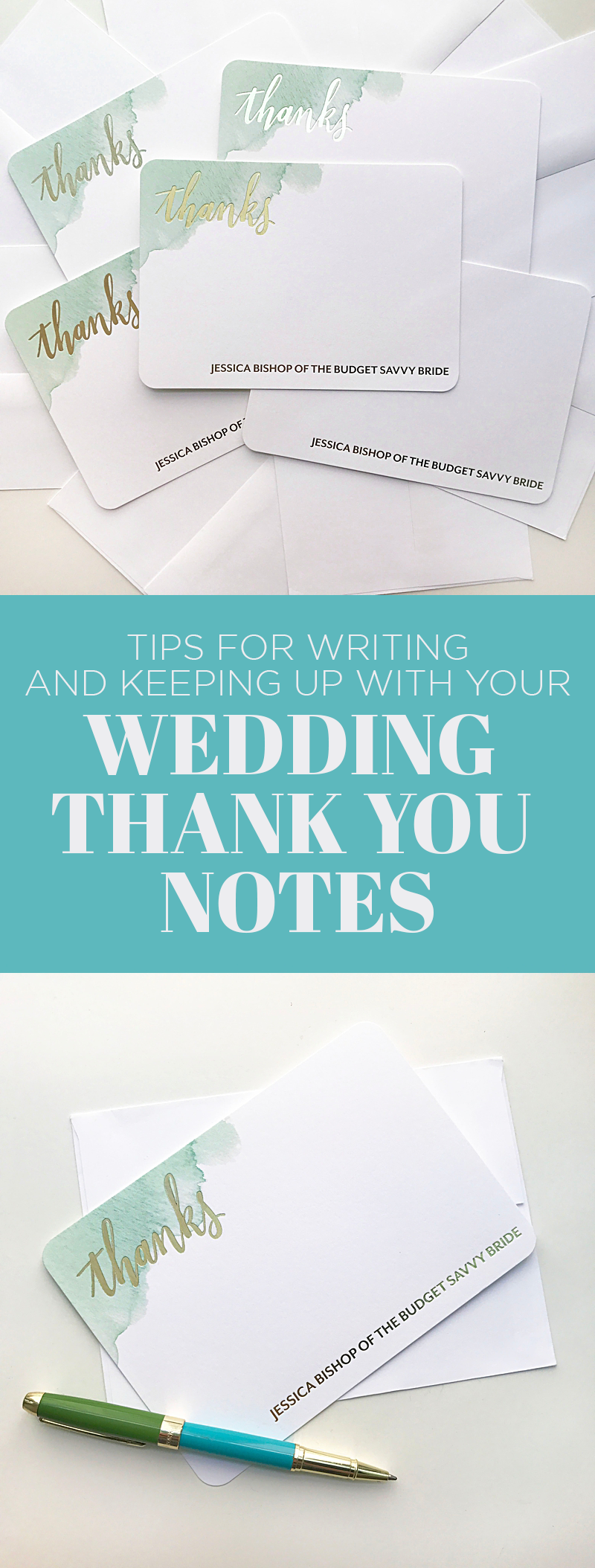 Check out these wedding thank you note tips and personalized stationery by Wedding Paper Divas! Learn how to keep up with and write your thank you's!