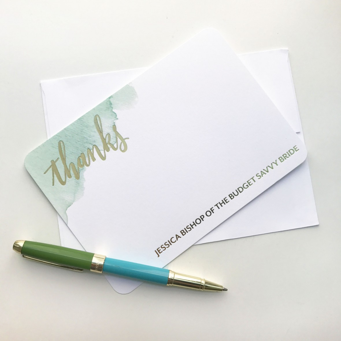 Wedding Paper Divas Personalized Stationery - Thank You Note Tips