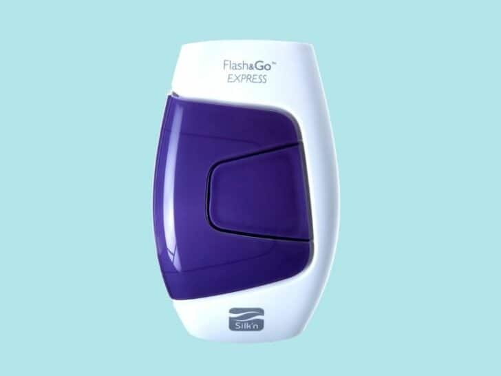 at-home beauty treatments : laser hair removal with Silk'n