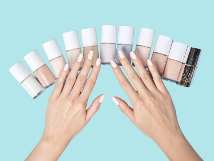 at-home beauty treatments : manicures at home with Olive & June
