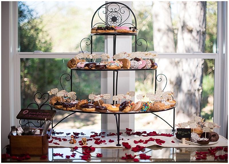 wedding donuts