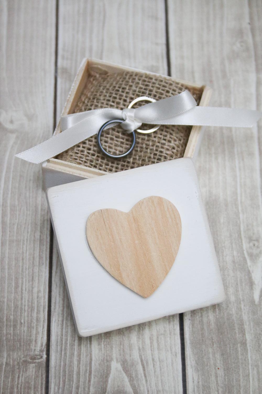 DIY Rustic Ring Bearer Boxes - Three Ways!