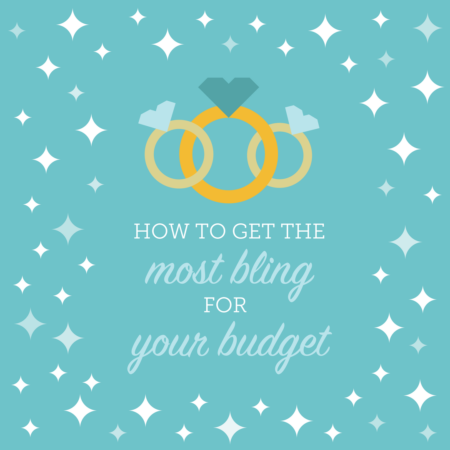 How to Get the Most Bling for your Budget : engagement ring shopping tips