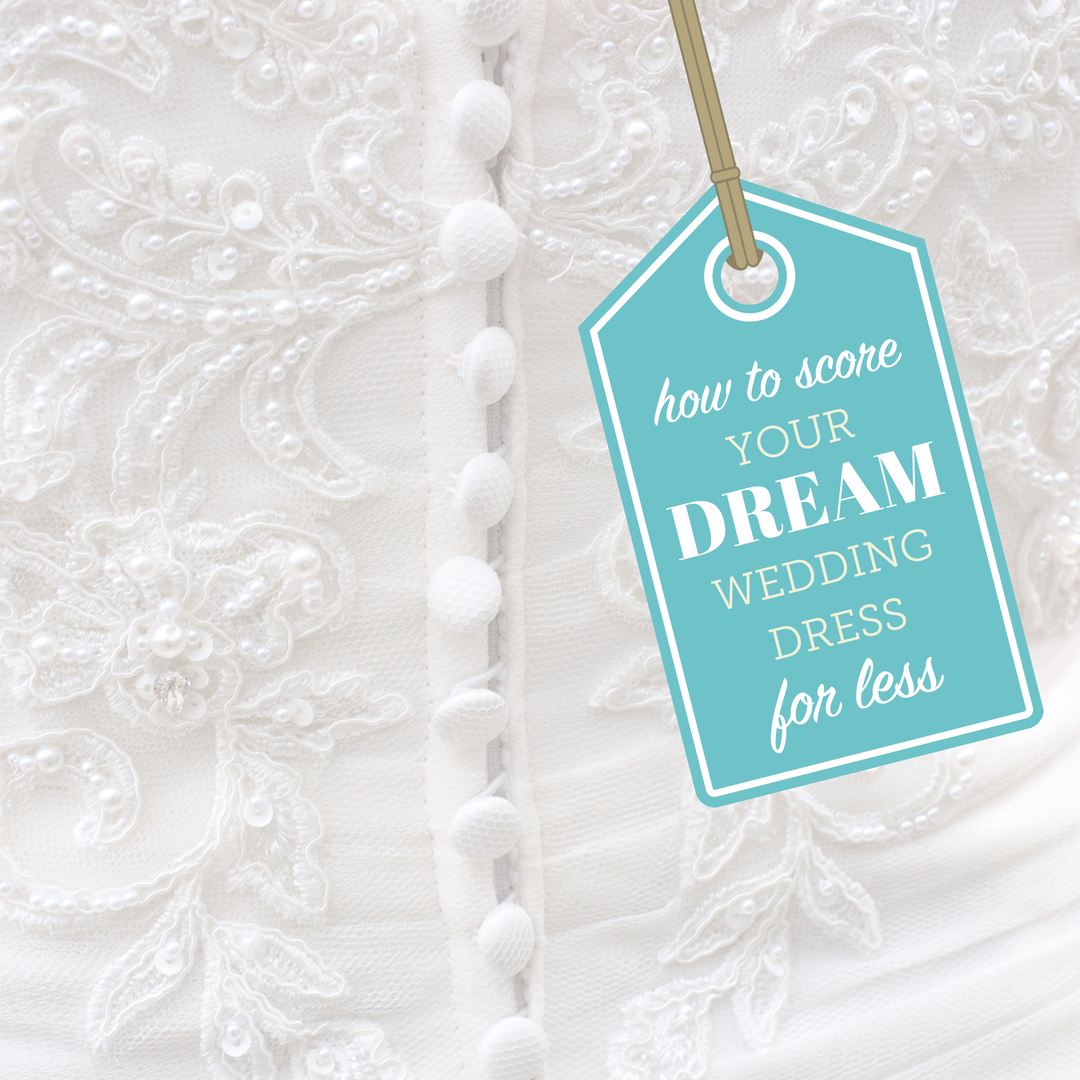 How to score your dream wedding dress for less-IG