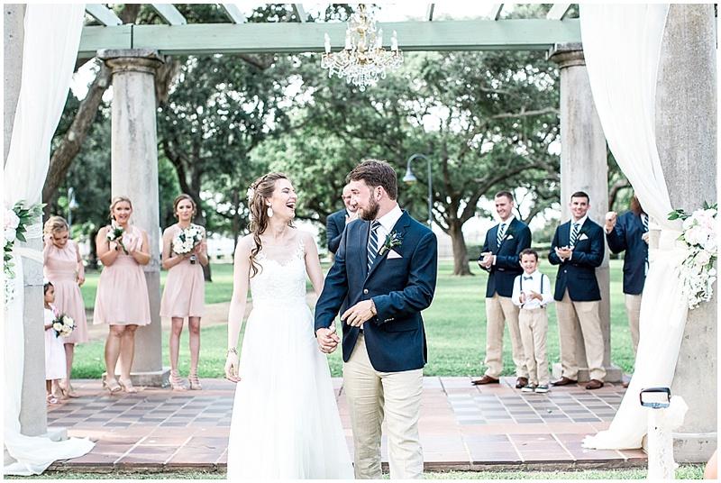 outdoor wedding recessionsl