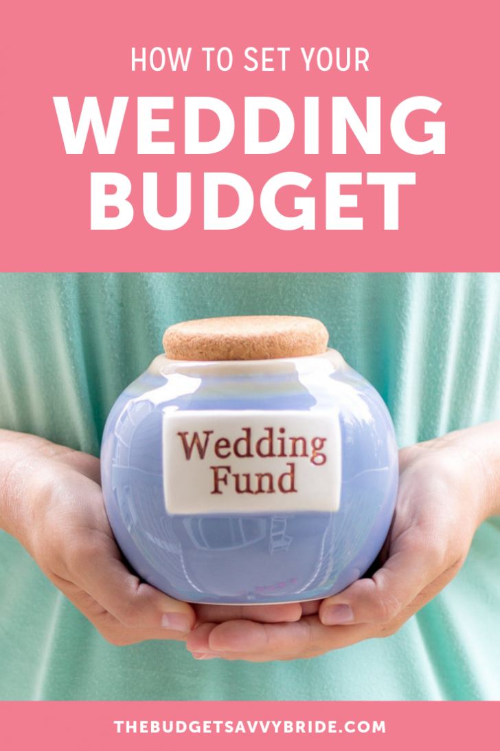 how to set your wedding budget