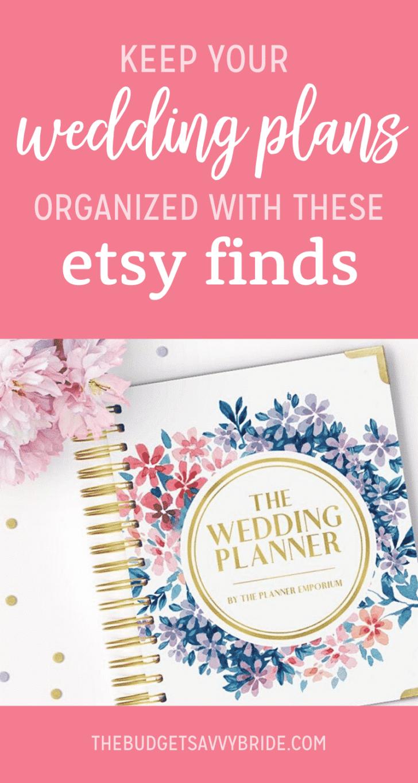 wedding plans organized