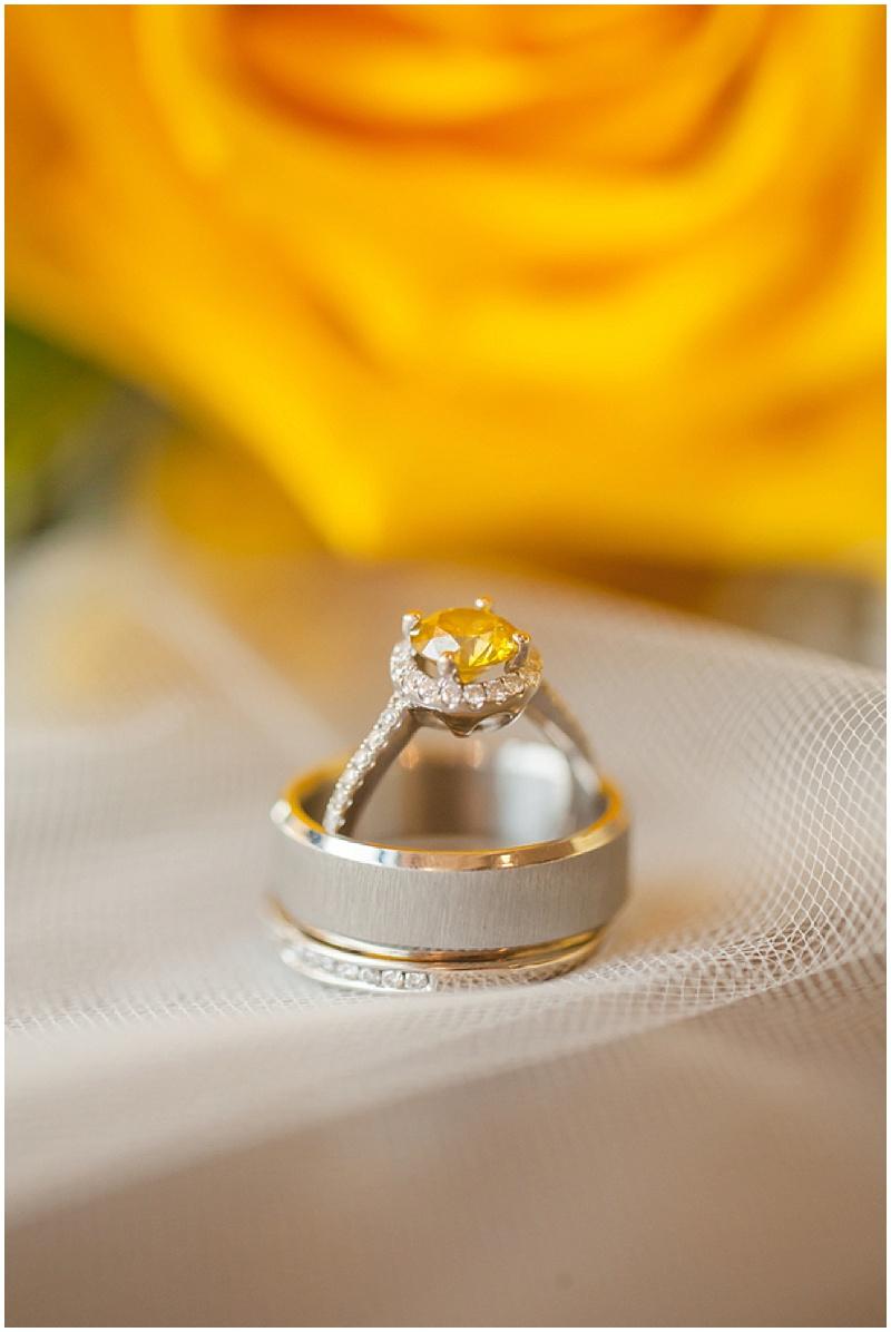 yellow wedding ring