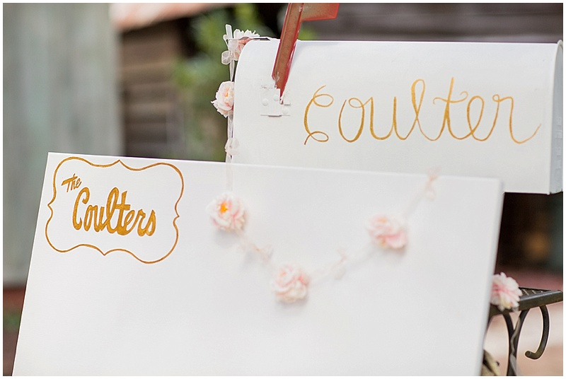 guest book and card holder