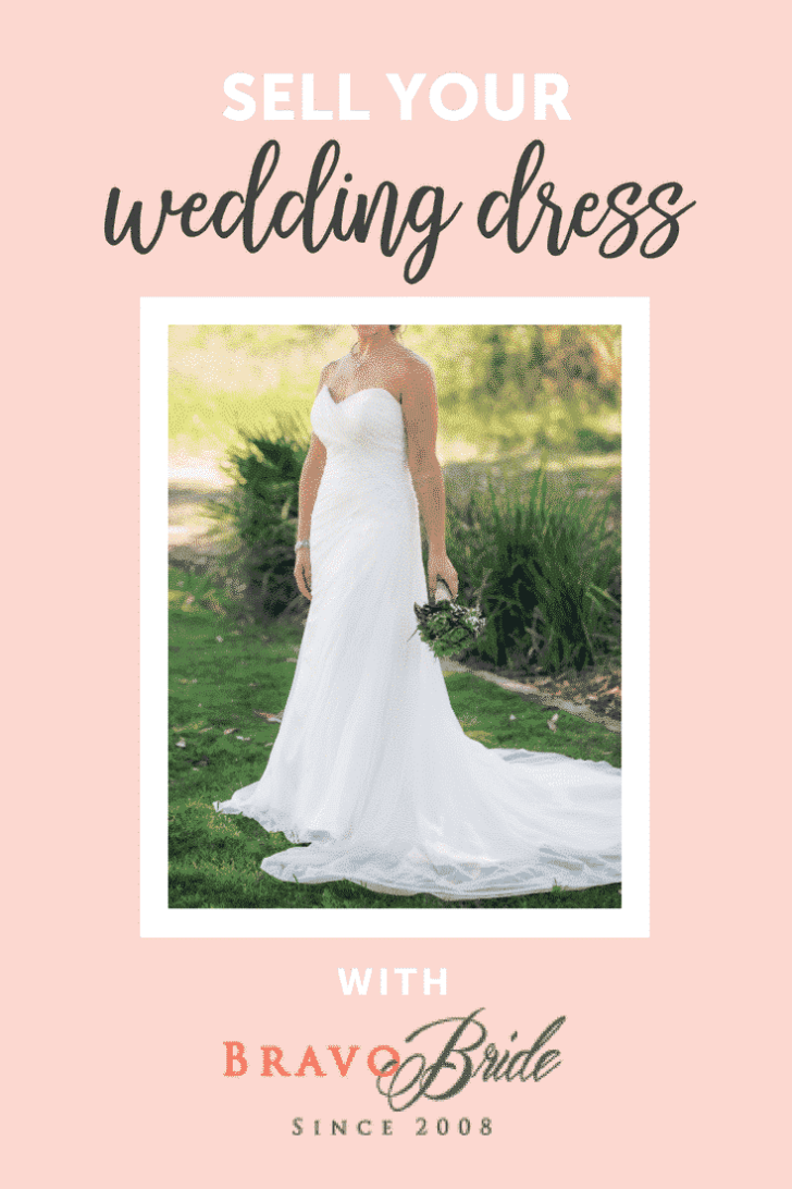 sell your wedding dress with bravobride