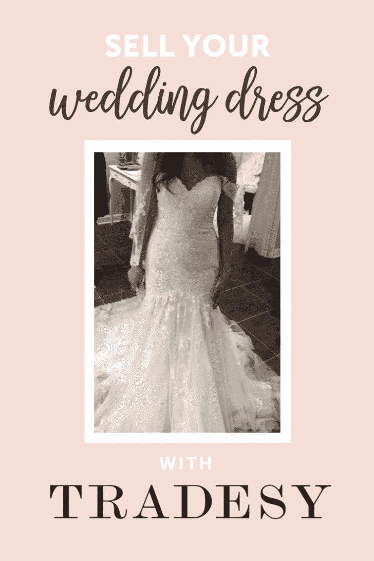 sell your wedding dress on tradesy