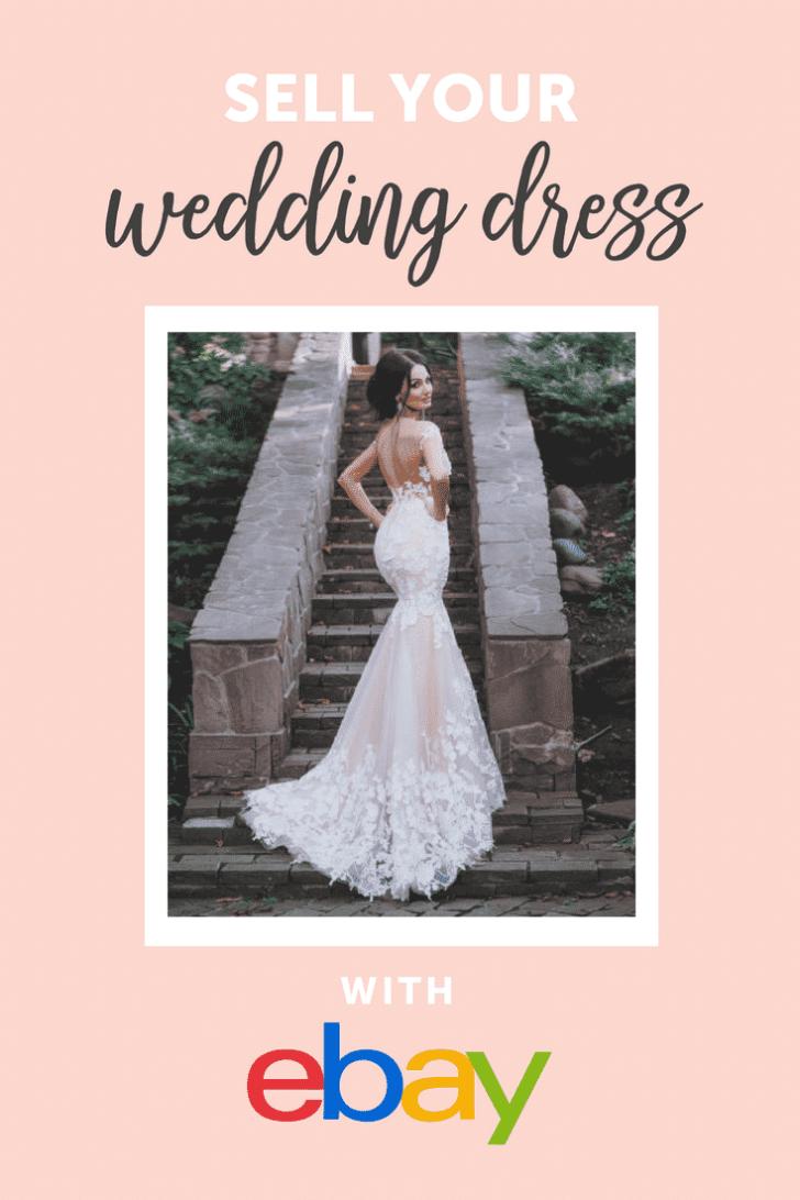 sell your wedding dress on ebay