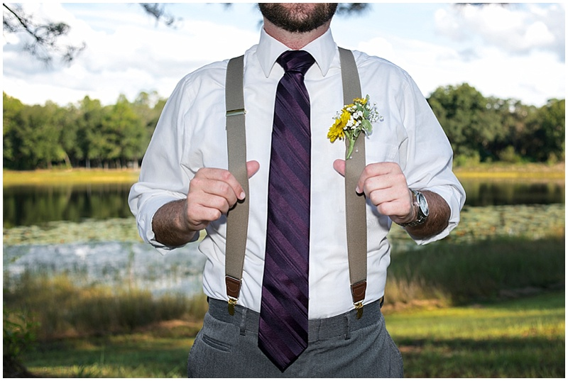 groom suspender attire