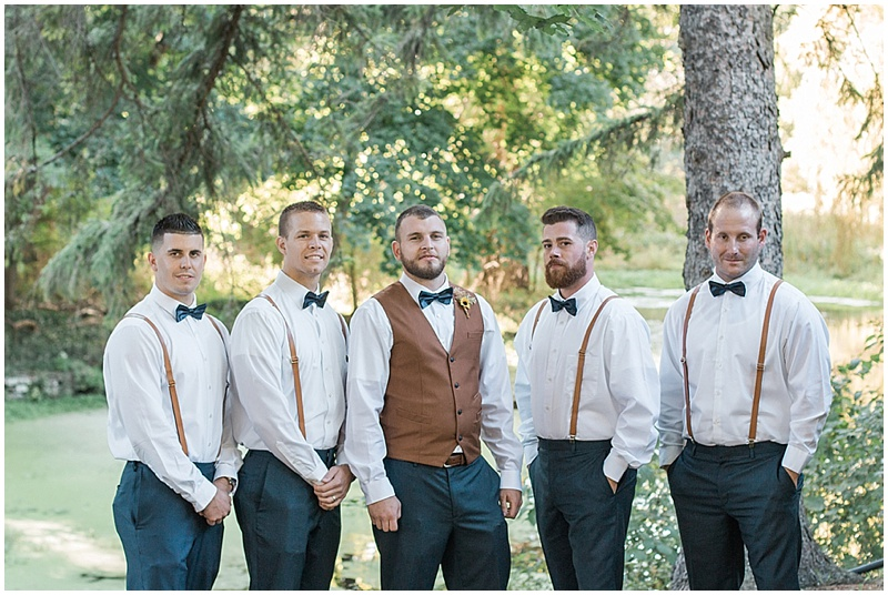 casual groomsmen attire