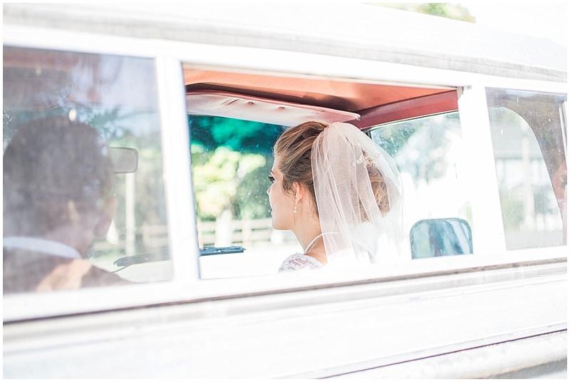 truck couple wedding photos