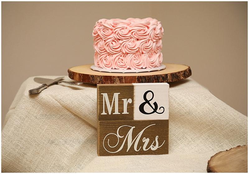 simple sweetheart cake